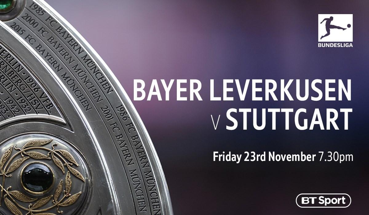 Bayer Leverkusen v Stuttgart ( Bundesliga)