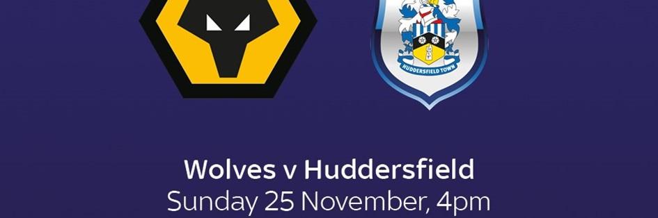 Wolves v Huddersfield Town (Premier League)