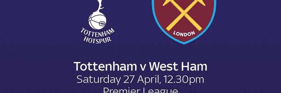 Tottenham Hotspur v West Ham Unite (Premier League)