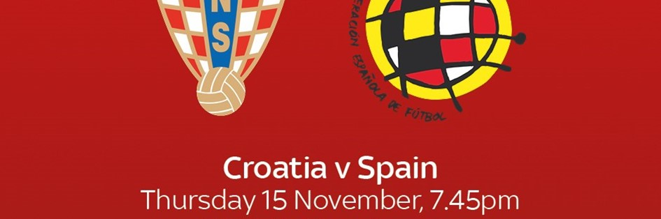 Croatia v Spain (International)