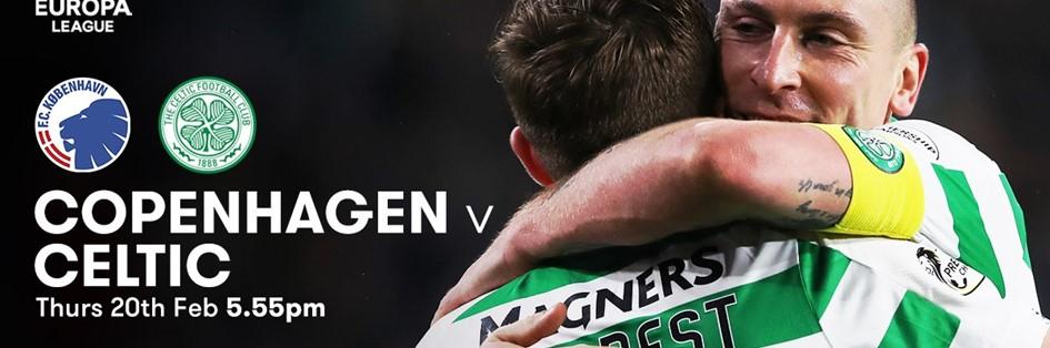 Copenhagen v Celtic (Europa League)