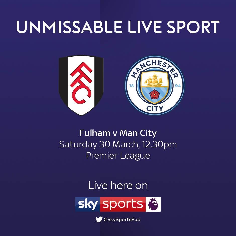 Fulham v Manchester City (Premier League)