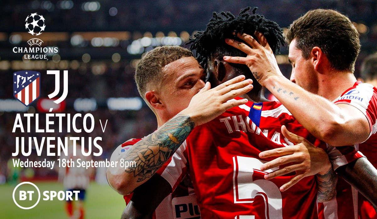 Atletico Madrid v Juventus (Champions League)