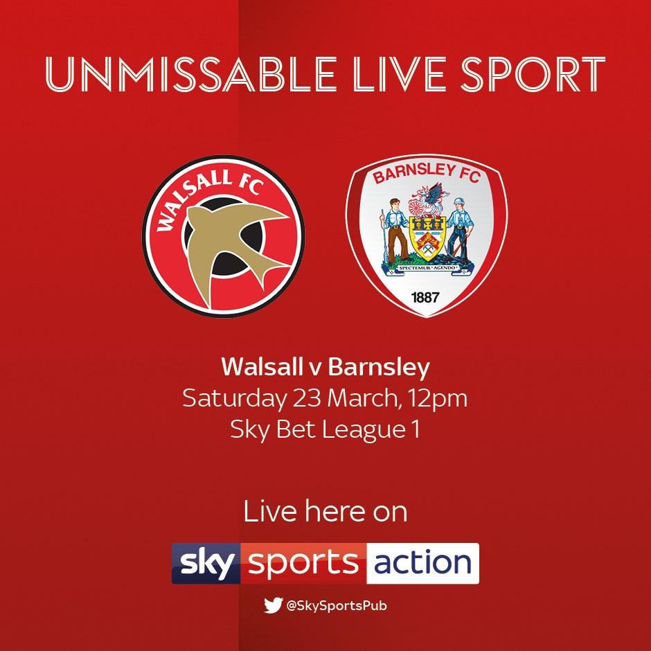 Walsall v Barnsley (Football League)