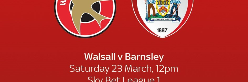 Walsall v Barnsley (Football League)