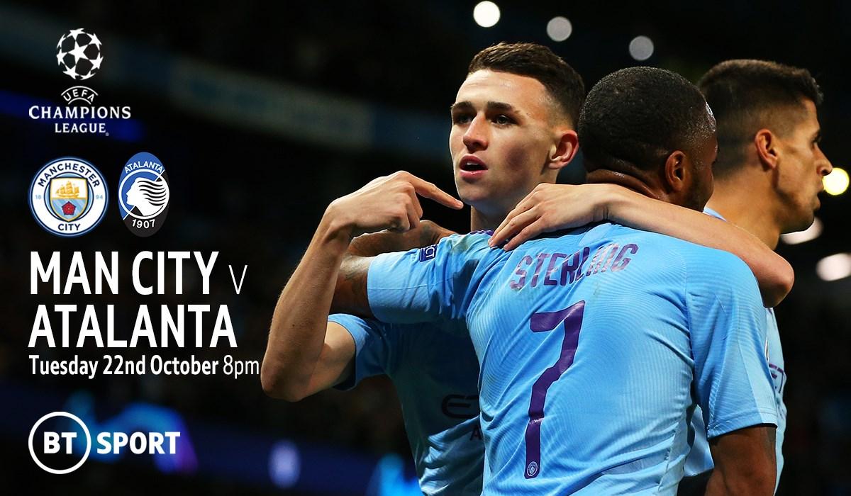 Manchester City v Atalanta (Champions League)