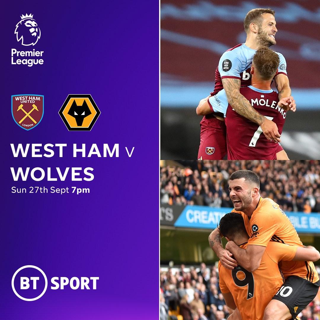 West Ham v Wolves (Premier League)