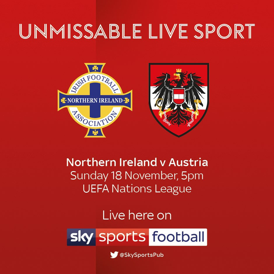 Northern Ireland v Austria (International)