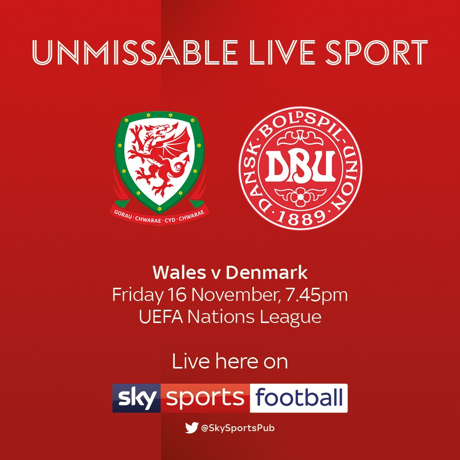 Wales v Denmark (International)