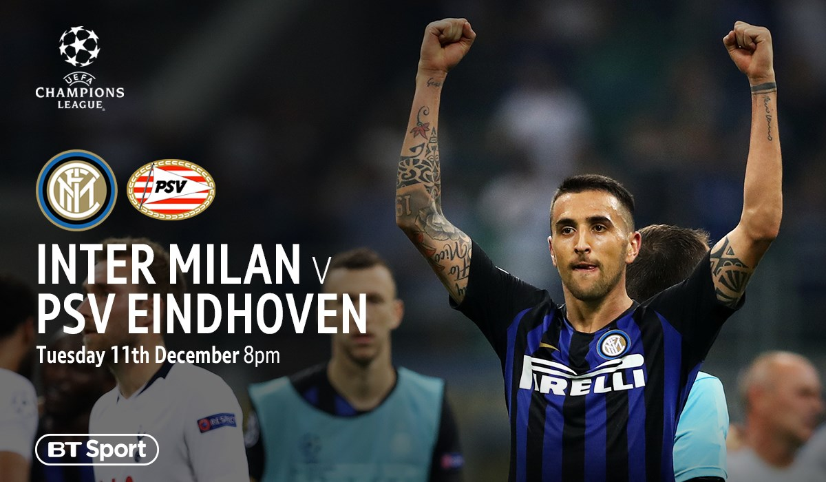 Inter Milan v PSV (Champions League)