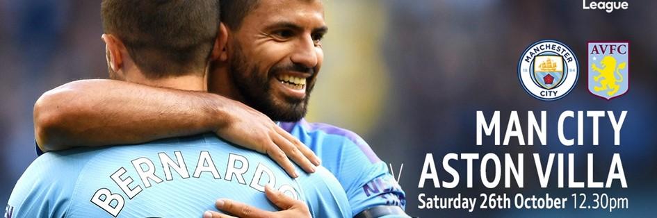 Manchester City v Aston Villa (Premier League)
