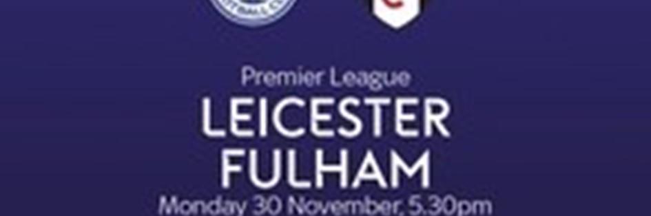 Leicester City v Fulham (Premier League)