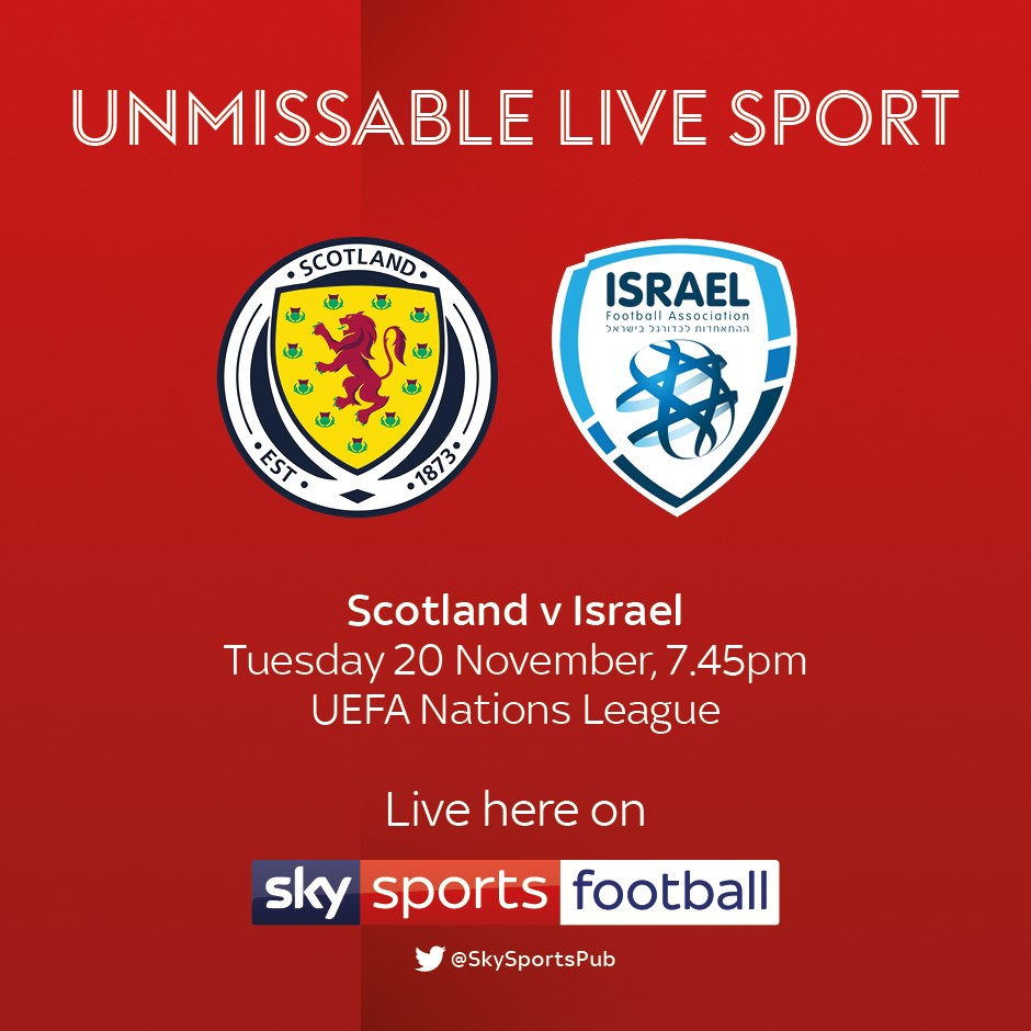 Scotland v Israel (International)