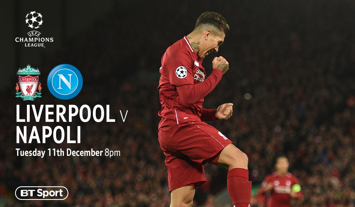 Liverpool v Napoli (Champions League)