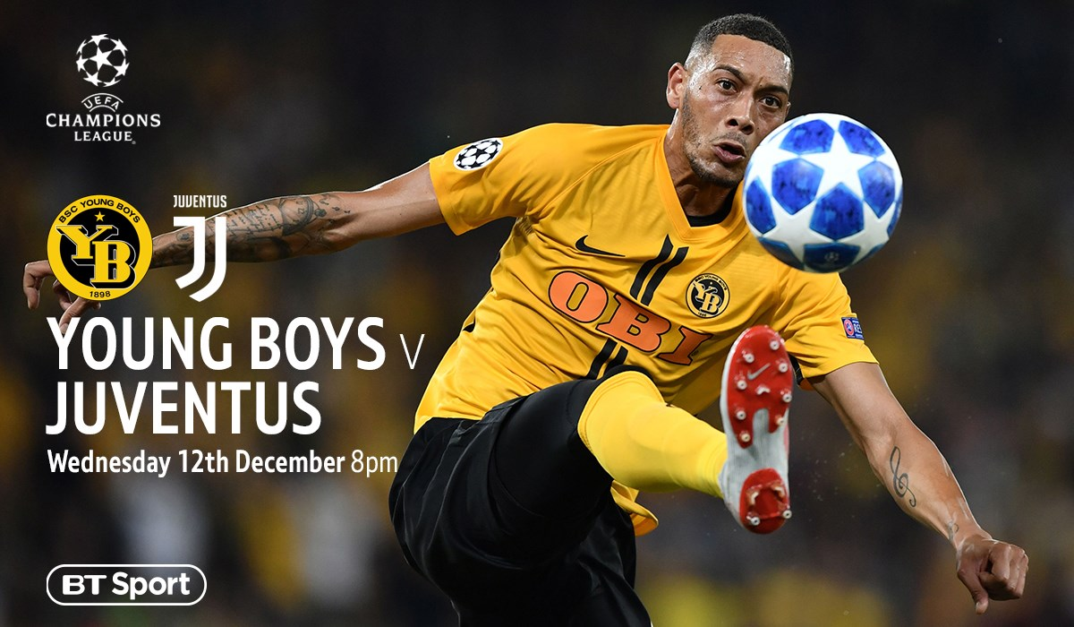 Young Boys v Juventus (Champions League)