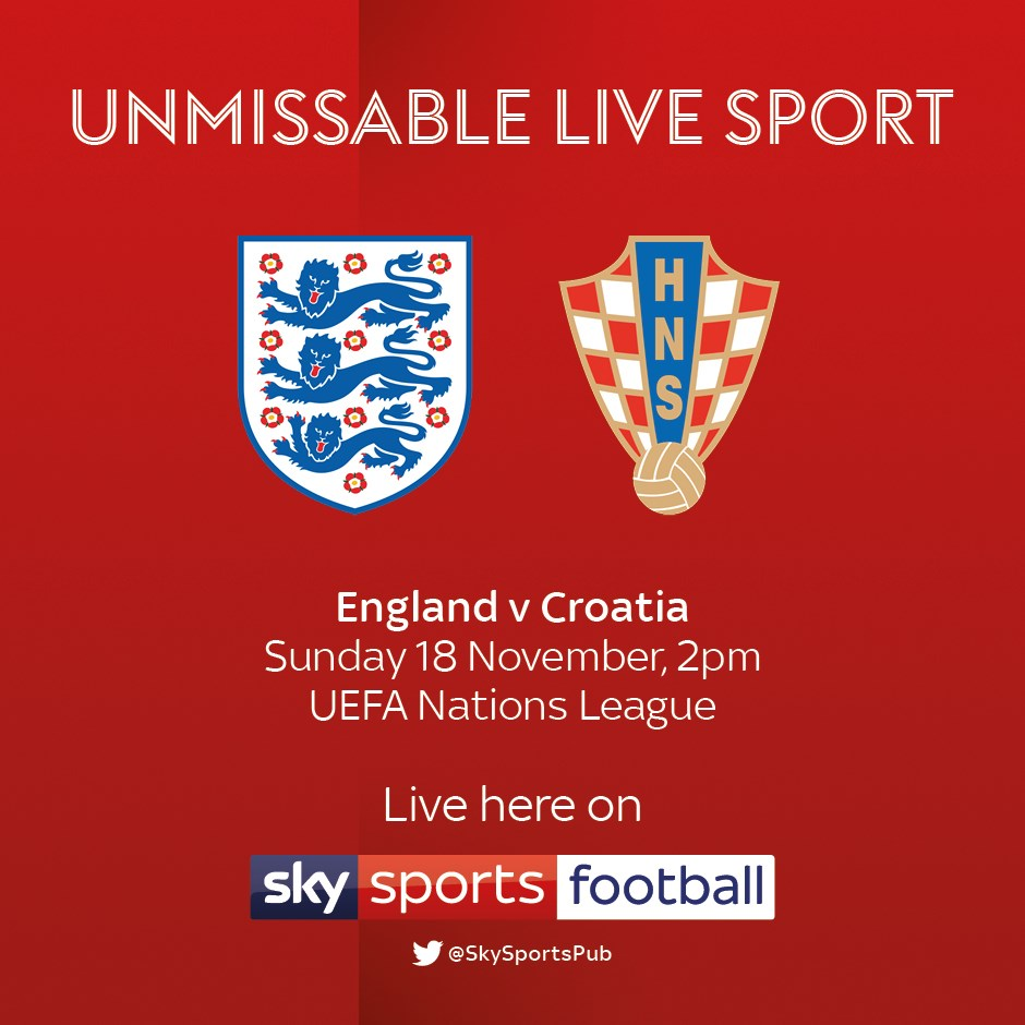 England v Croatia (International)