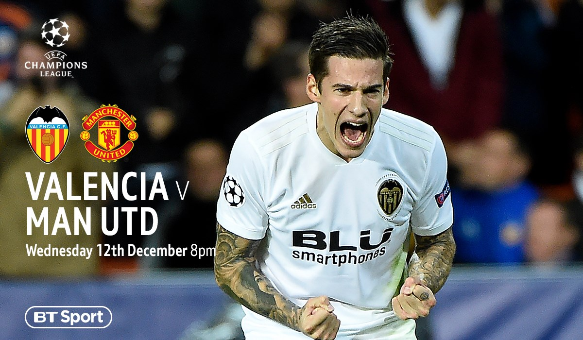 Valencia v Manchester United (Champions League)