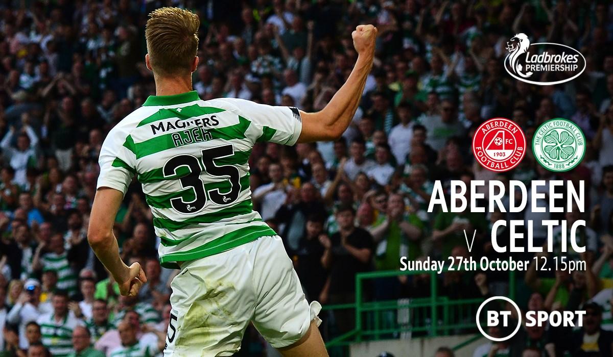 Aberdeen v Celtic (Scottish Premier League)