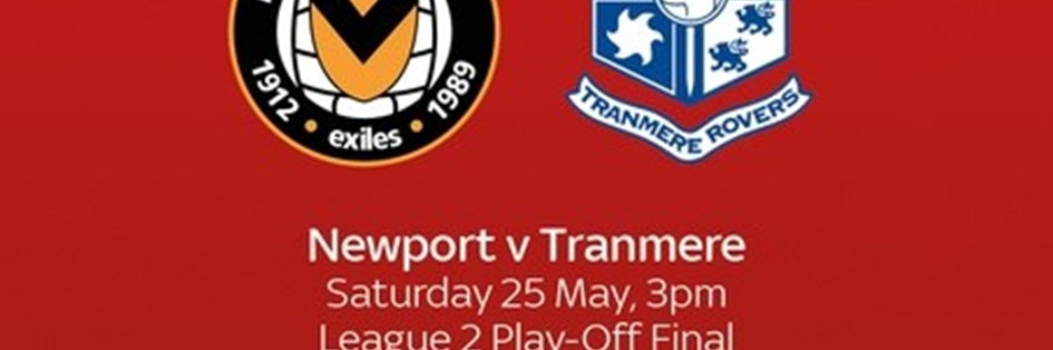Newport County v Tranmere Rovers (Football League)