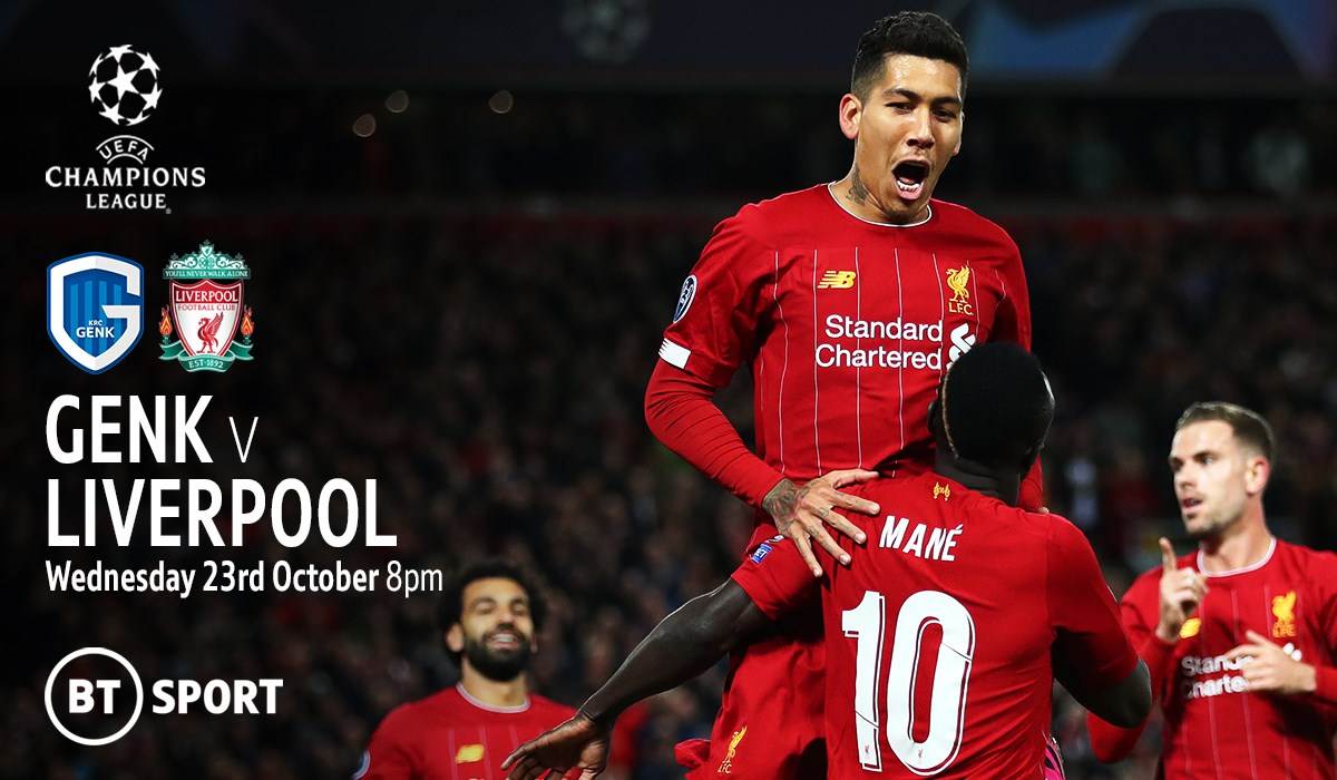 Genk v Liverpool (Champions League)