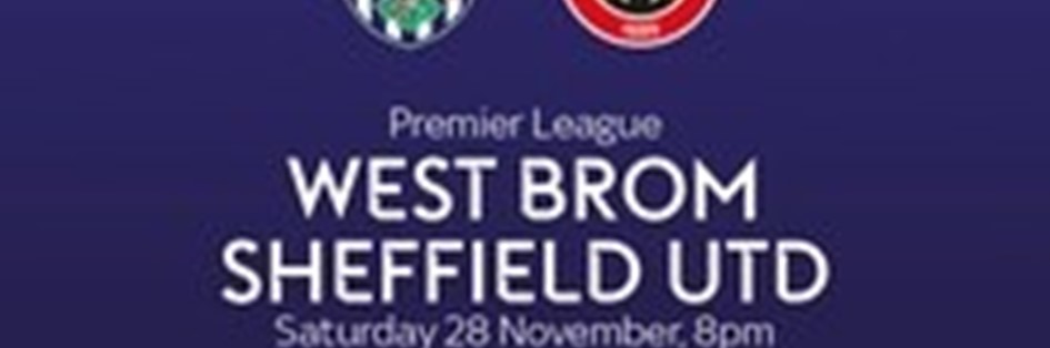 West Bromwich Albion v Sheffield United (Premier League)