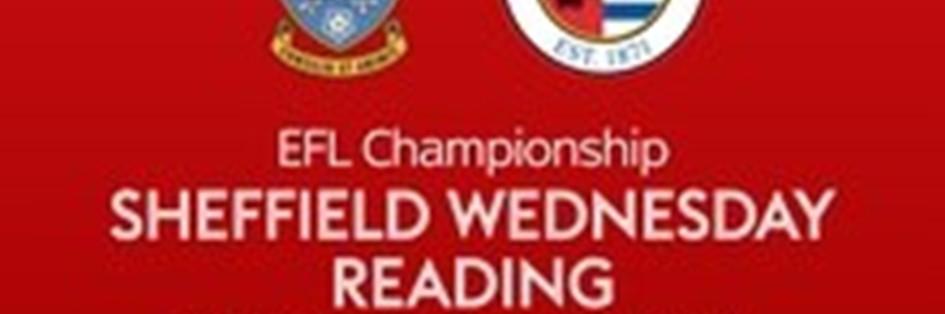 Sheffield Wednesday v Reading (Football League)