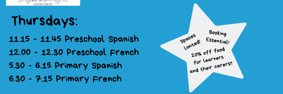 Kid's French and Spanish Lessons