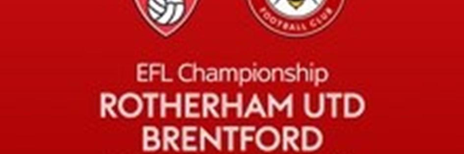 Rotherham United v Brentford (Football League)