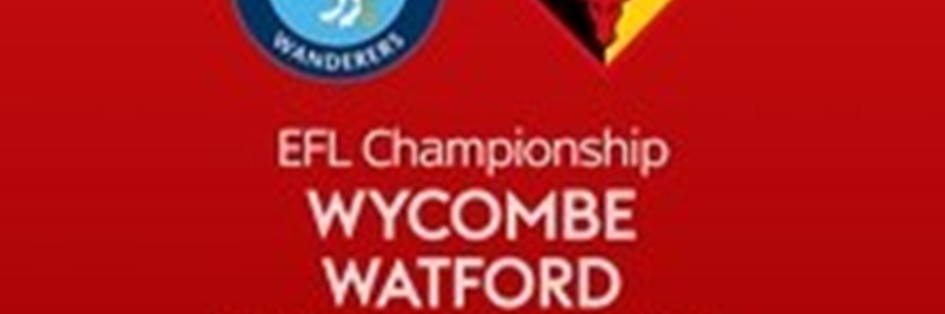 Wycombe Wanderers v Watford (Football League)