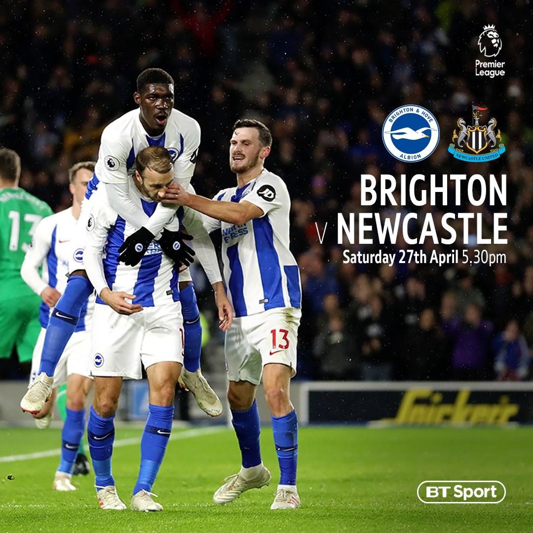 Brighton v Newcastle (Premier League)