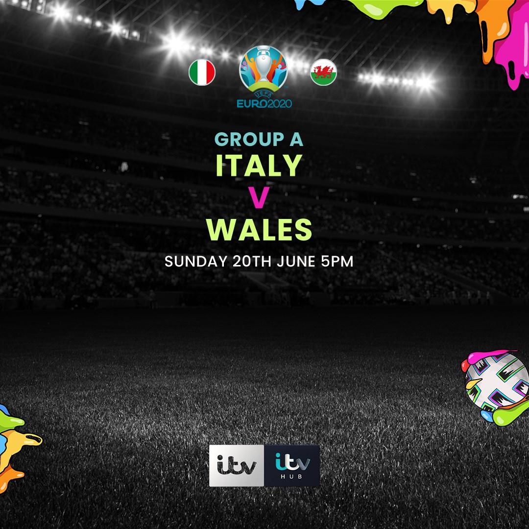 Italy v Wales (Euro 2020)