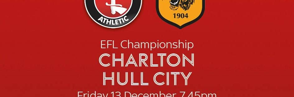 Charlton Athletic v Hull City (Football League)