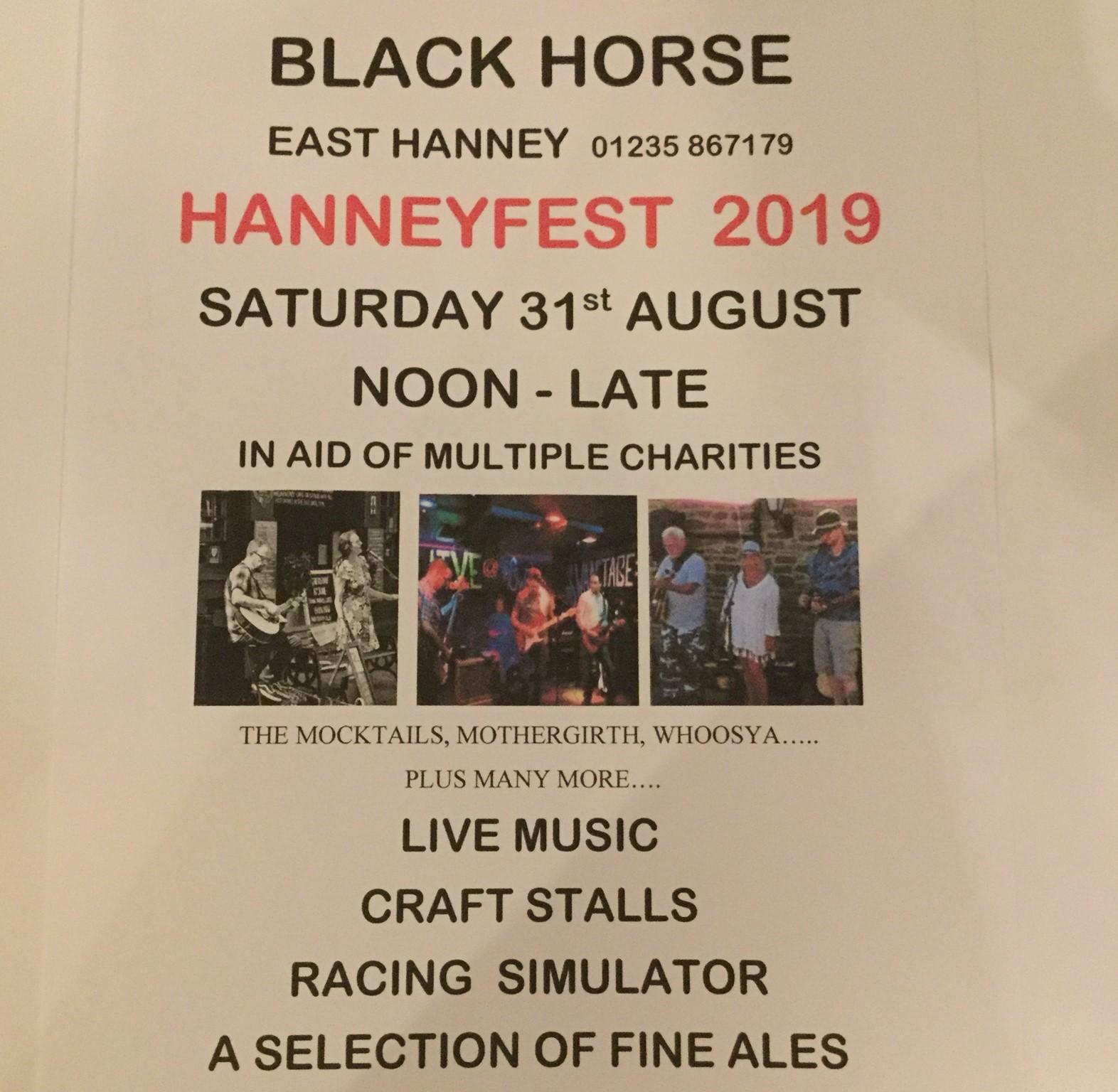 HANNEYFEST 2019