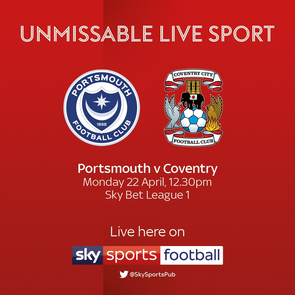 Portsmouth v Coventry (Football League)