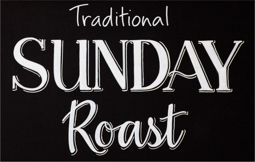 Traditional Sunday Roasts