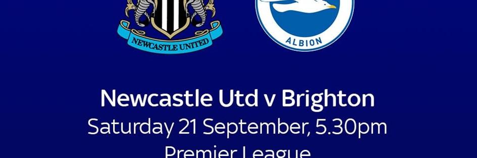 Newcastle United v Brighton and Hove Albion (Premier League)
