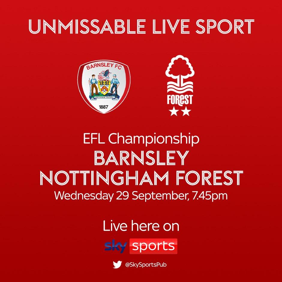 Barnsley v Nottingham Forest (Football League)