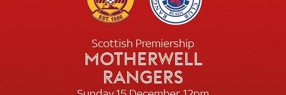 Motherwell v Rangers (Scottish Premier League)