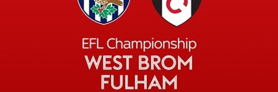 West Brom v Fulham (Football League)