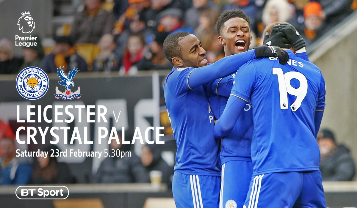 Leicester City v Crystal Palace (Premier League)