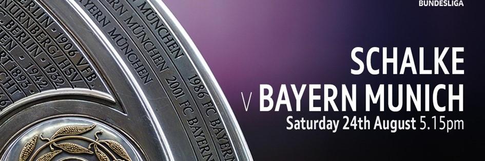 Schalke v Bayern Munich ( Bundesliga)