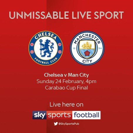 Chelsea v Manchester City (EFL Cup)