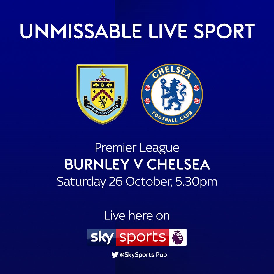 Burnley v Chelsea (Premier League)
