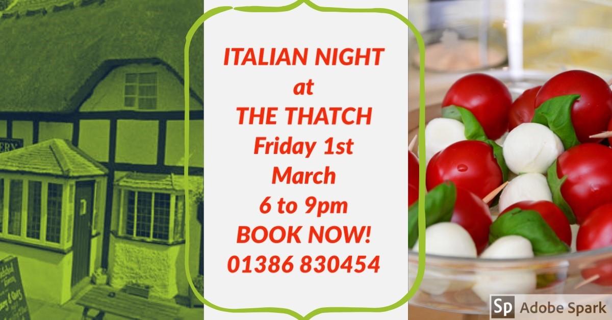 ITALIAN NIGHT