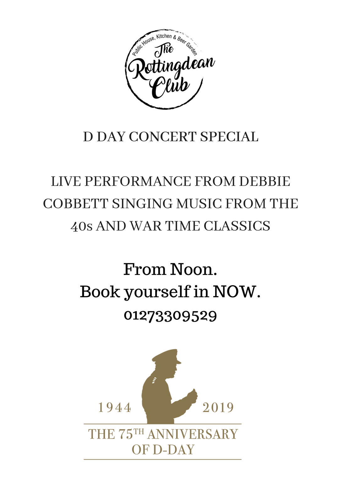 D DAY LUNCHTIME CONCERT