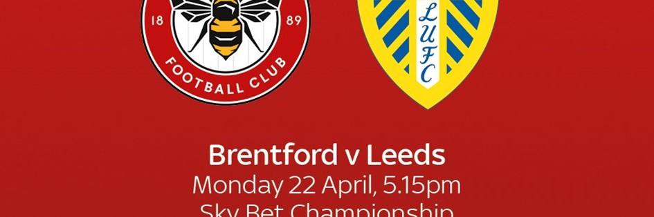 Brentford v Leeds United (Football League)