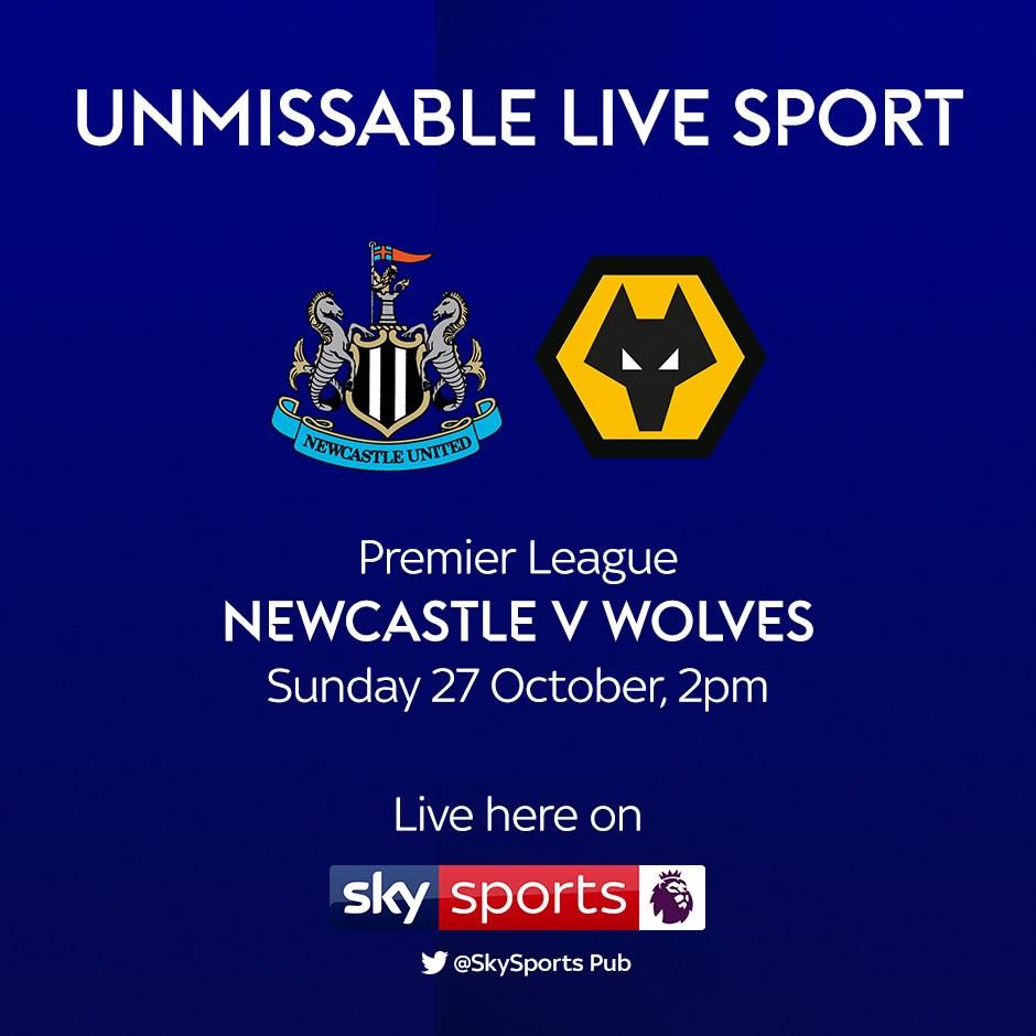 Newcastle United v Wolves (Premier League)