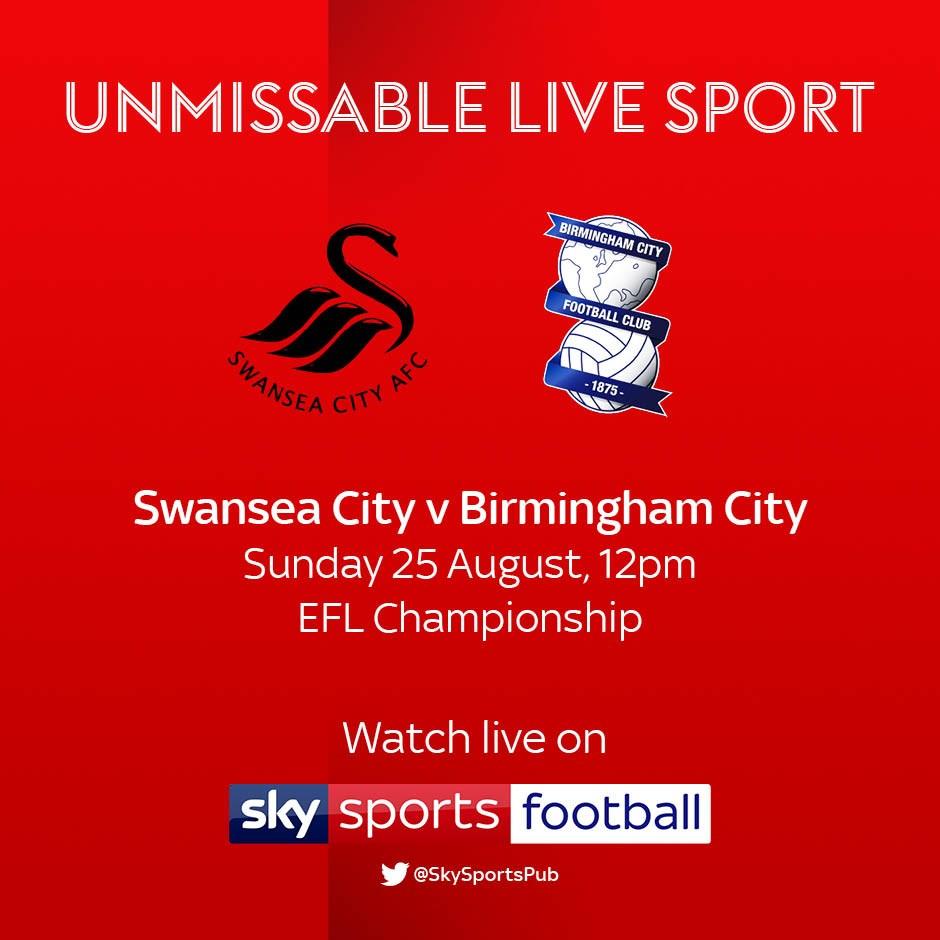 Swansea City v Birmingham City (Football League)
