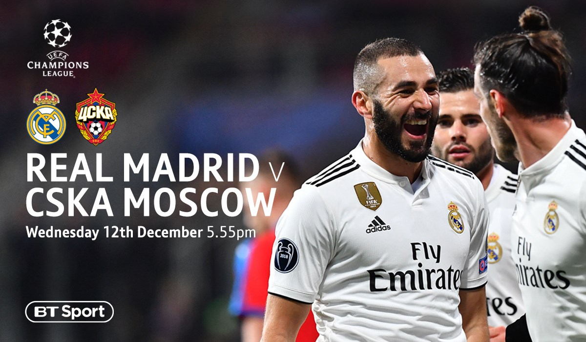 Real Madrid v CSKA Moscow (Champions League)