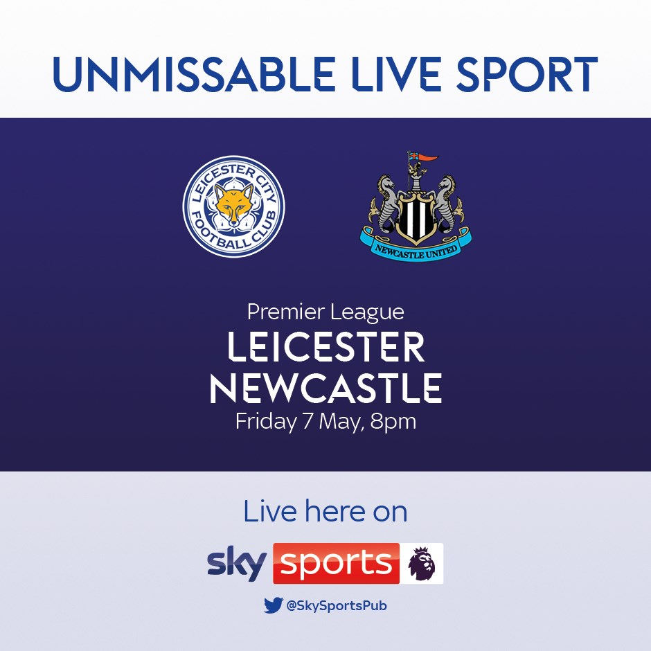 Leicester City v Newcastle United (Premier League)